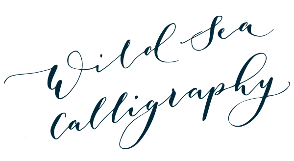 Wild Sea Calligraphy - Modern Calligraphy Workshops in Devon and Cornwall
