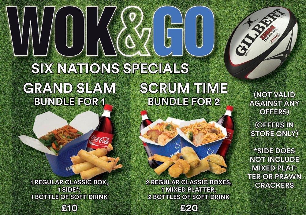 Wok&Go Offers Deals Bundles