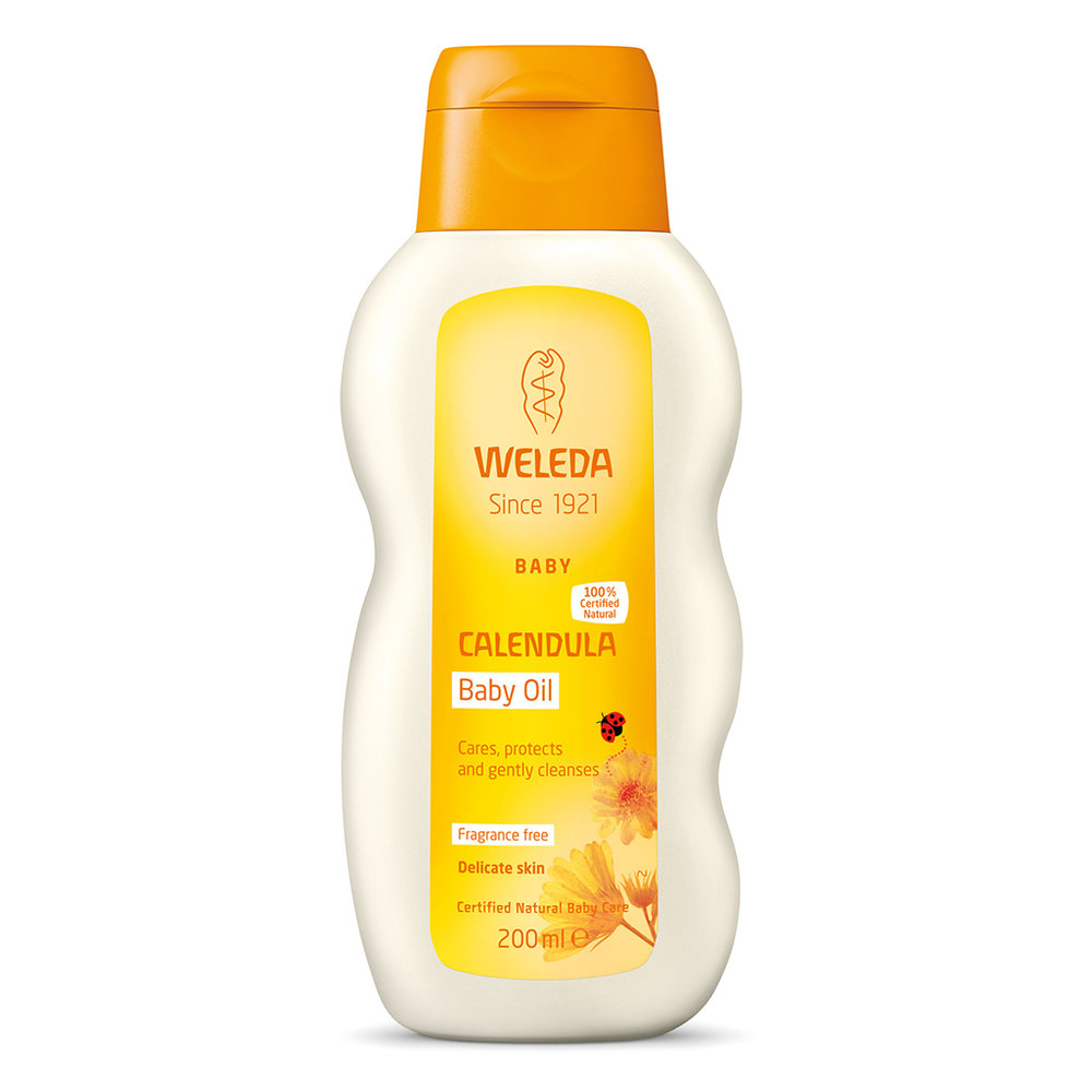 """Weleda Calendula Baby oil - So after a full day in the sun I do like to give my skin a little """"treat"""". And although Weleda do have After Suns especially formulated for this… I have to say my heart will alway belong to their Calendula Baby Oil. Made with sesame oil – an ingredient known as the queen of oils! This is incredible for skin, so healing and soothing. And safe to slather on everyone."""