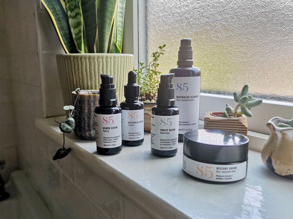 s5 skincare - anti pollution, natural, vegan skincare