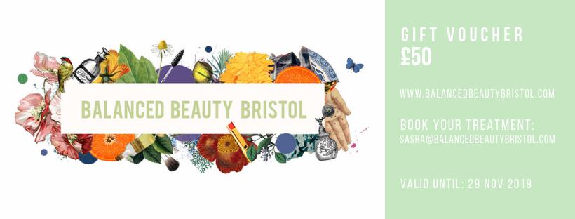 balanced beauty bristol gift voucher