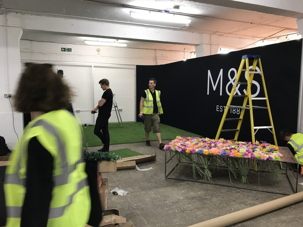 Bespoke Builds & Logistics - Designing, Building & Managing your concept into a live event set-up. We look after every aspect of building a bespoke event piece either on or off campus. We advise on the design and practicality of your installation, stand or set-up.