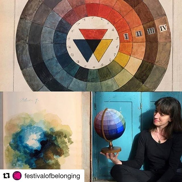 #Repost @festivalofbelonging with @get_repost ・・・ During the @artwavefestival fortnight of events there are many incredible things happening in Newhaven, including a screening of the wonderful 3 Colours White at the @hillcrestcentre on the 25th of August introduced by art historian @saschaloske - this event is not to be missed. Her talk on the history of colour this evening at the @lewes_depot was a fascinating journey through the history and science of colour! Get your tickets via the Hillcrest website now!
