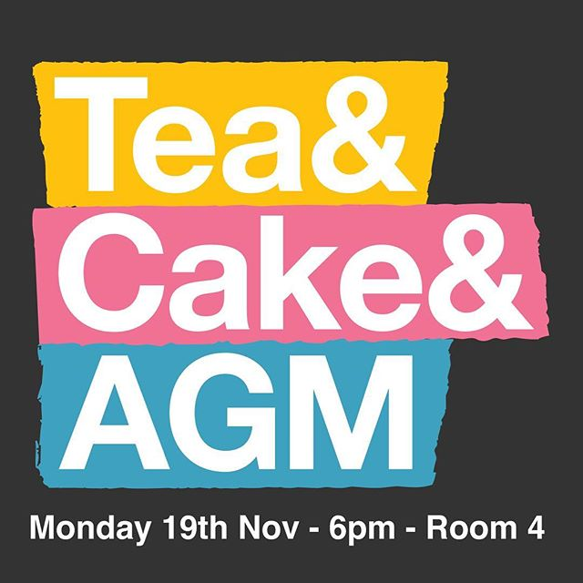 Join us for our annual general meeting on Monday the 19th November at 6pm in room 4. You will have a chance to meet with our trustees and ask them about the centre. Plus Friends of the Hillcrest will also be able to vote on the admission of our new trustees* *To be a Friend of the Hillcrest costs £10 per year (concessions £5)