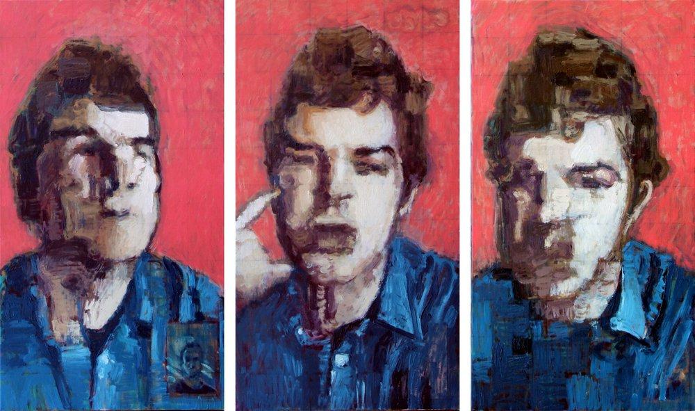 Three Studies for a Portrait of HRO