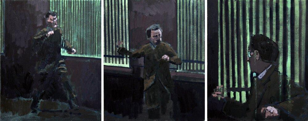 Three Studies for a Portrait of Kleinman