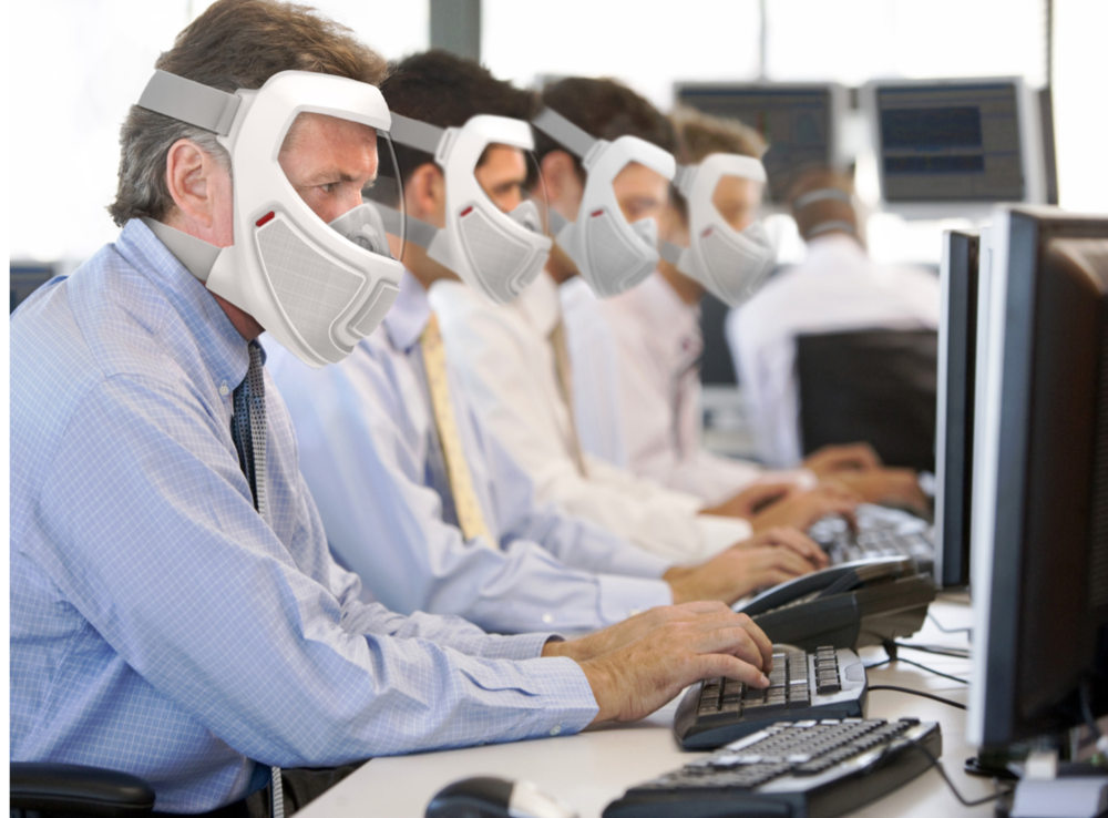 GOVERNMENT/ FINANCE /TELECOM/UTILITIES - Office workers at all levels will have no protection available during an outbreak. Working in close proximity to each other without respiratory protection will spread disease to co-workers and create casualties among those whose work is essential for continuity of operations during an extended epidemic.