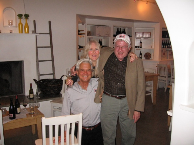 Steve & Carol Girard of Benton-Lane Winery and Michael Adelsheim of Adelsheim Vineyards