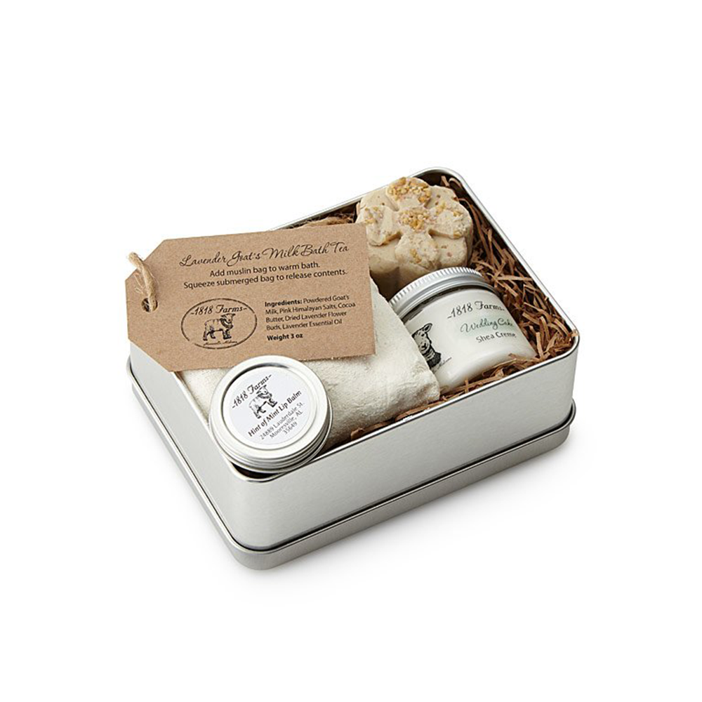 Farm Fresh Experience Tin - UncommonGoods, $32.00