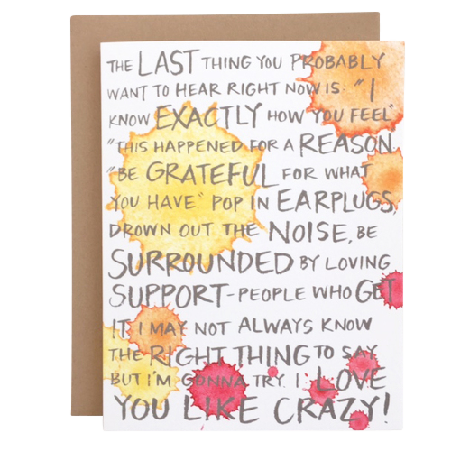 I Love You Like Crazy Card - Emily McDowell Studio, $4.50
