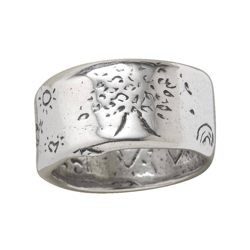 Sterling Silver Strength Ring - Sundance, $270.00