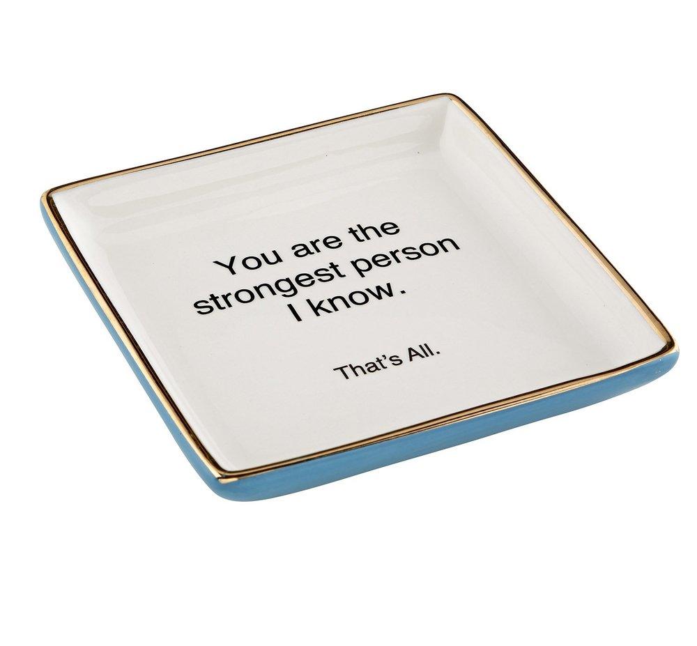 Ceramic Trinket Tray - Amazon, $11.76