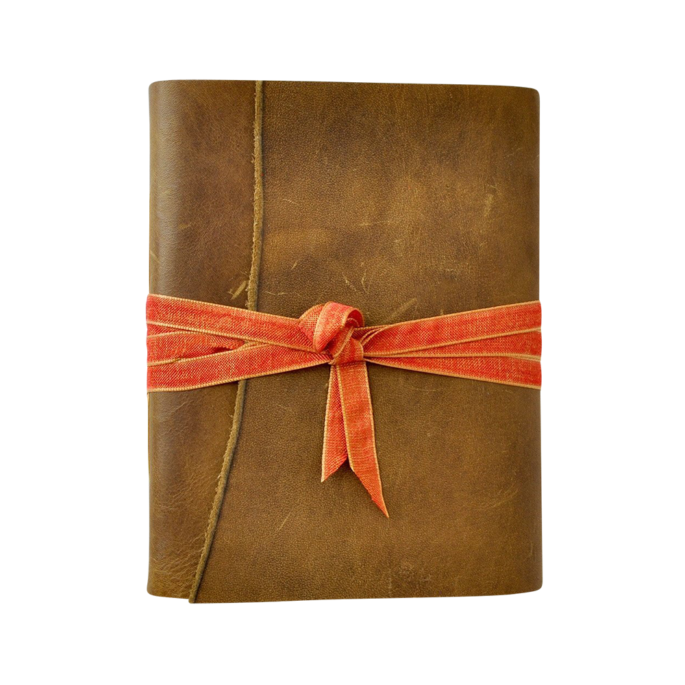 Sorbet One of a Kind Leather Journal - Jenni Bick, $100.00