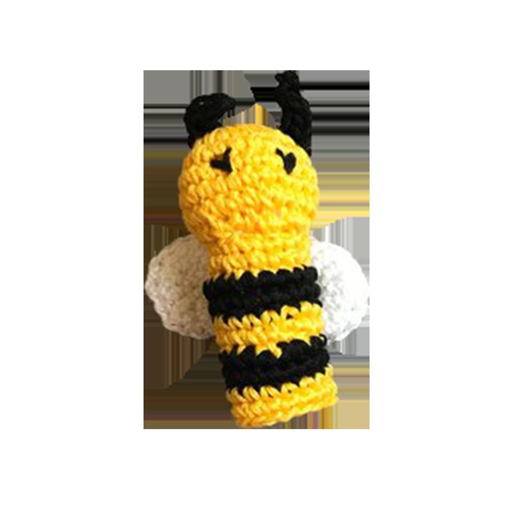 Bee Crochet Finger Puppet - Etsy, $8.27