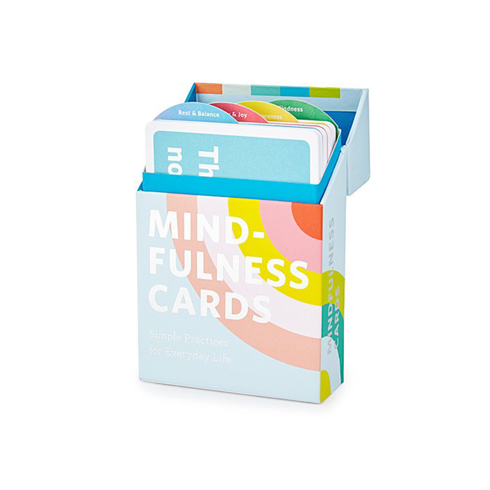 Mindfulness Cards - UncommonGoods, $16.95