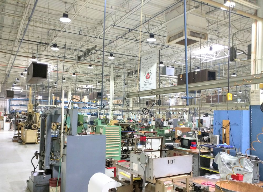 American Micro Products - Batavia, OH - 350,000 SQ. FT / 24/7 Operation  Complete Facility Turnkey LED Conversion  Rebate Awarded: $67,309  Annual Savings: $81,019  Net ROI: 2.9 YRS