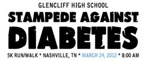 Glencliff Academy of Medical Science Research 5k diabetes teacher team externship