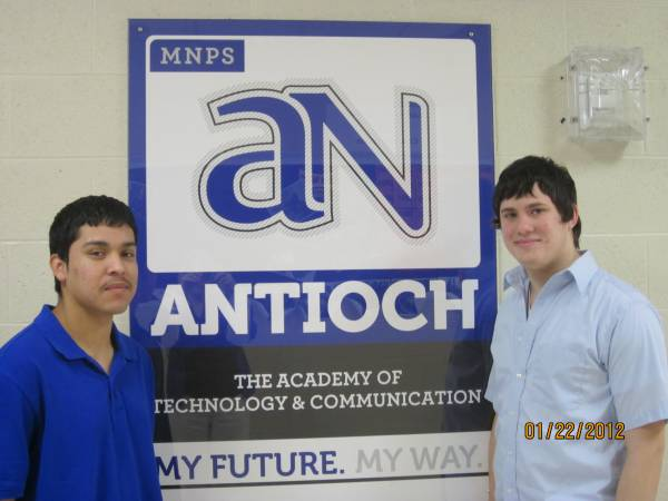 Antioch students job shadowing Best Buy