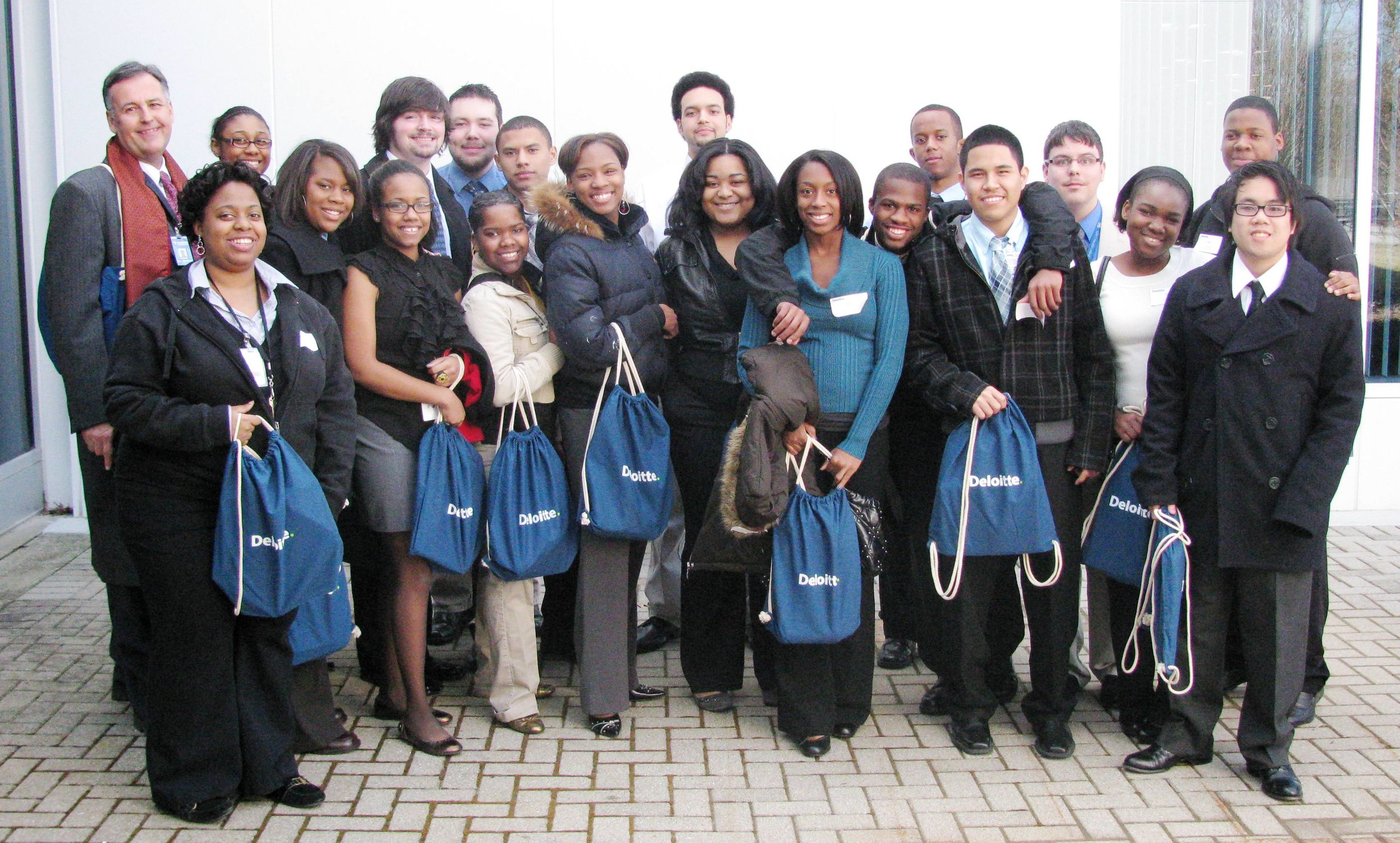 Antioch High School students job shadow Deloitte