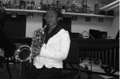 Hillwood student job shadowing music education