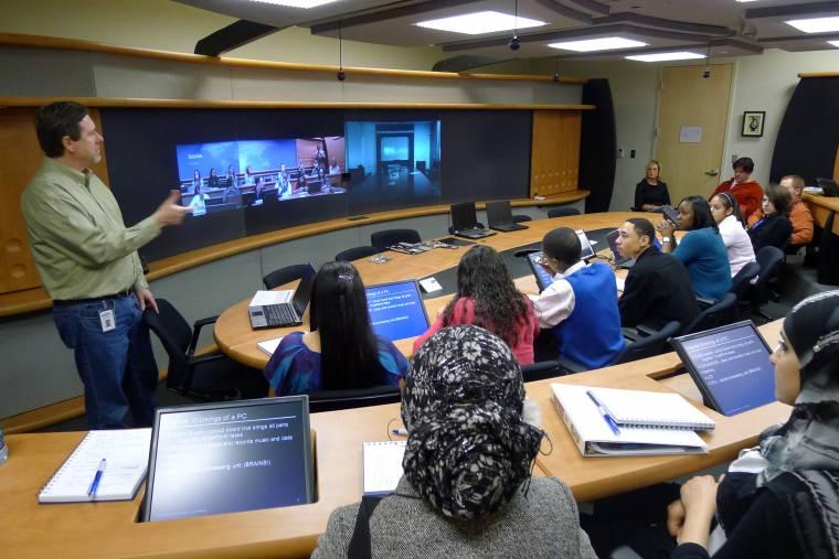 Academies Nashville students job shadowing technology Deloitte