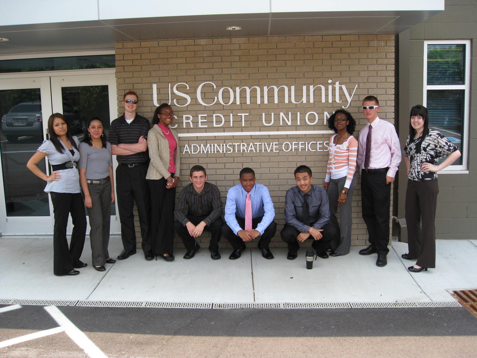McGavock student summer internship U.S. Community Credit Union