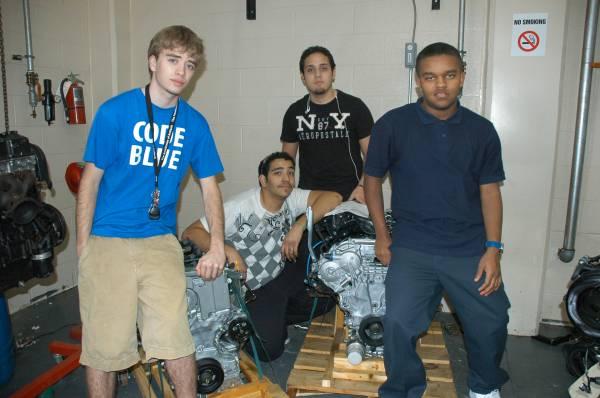 Antioch automotive technology students tour Nissan plant