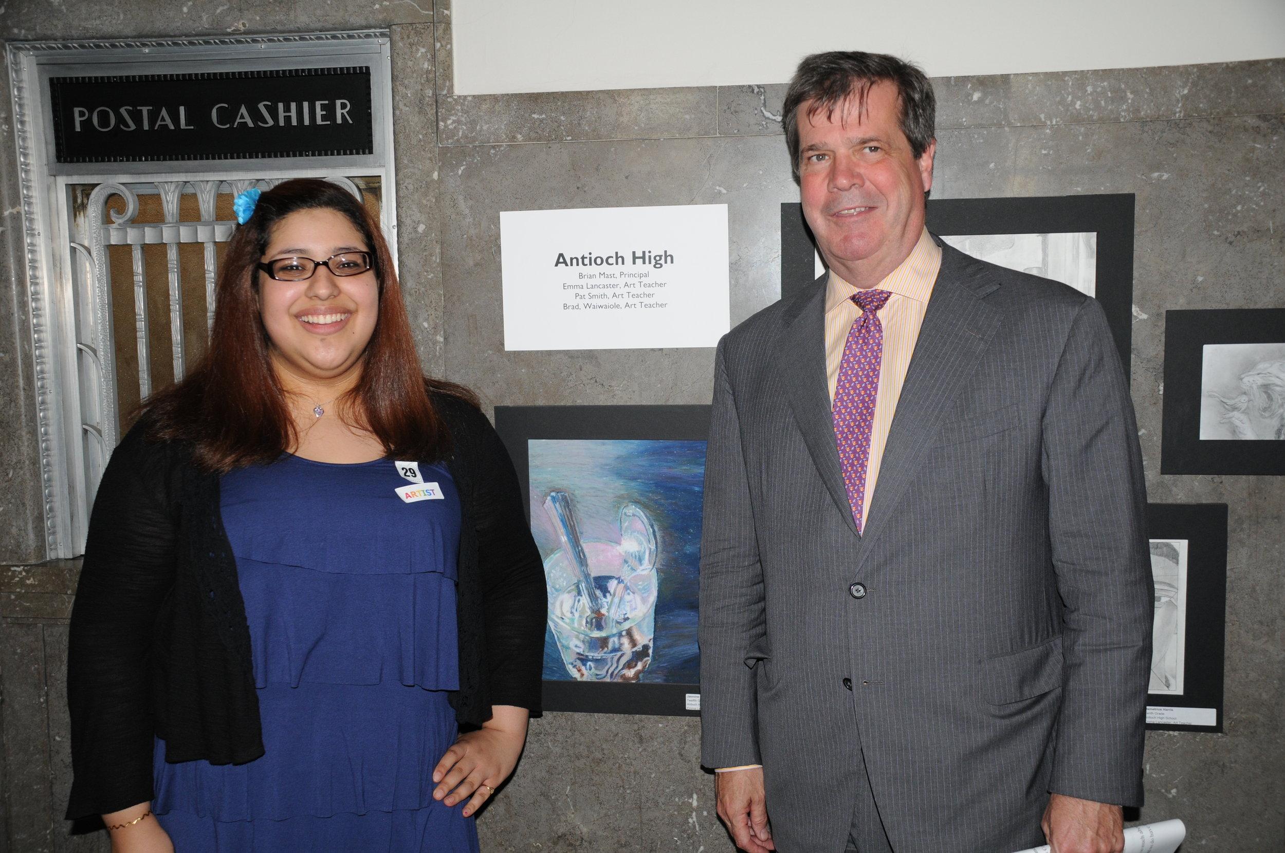 Antioch High Jasmine Mayor Art Show Karl Dean Frist Center