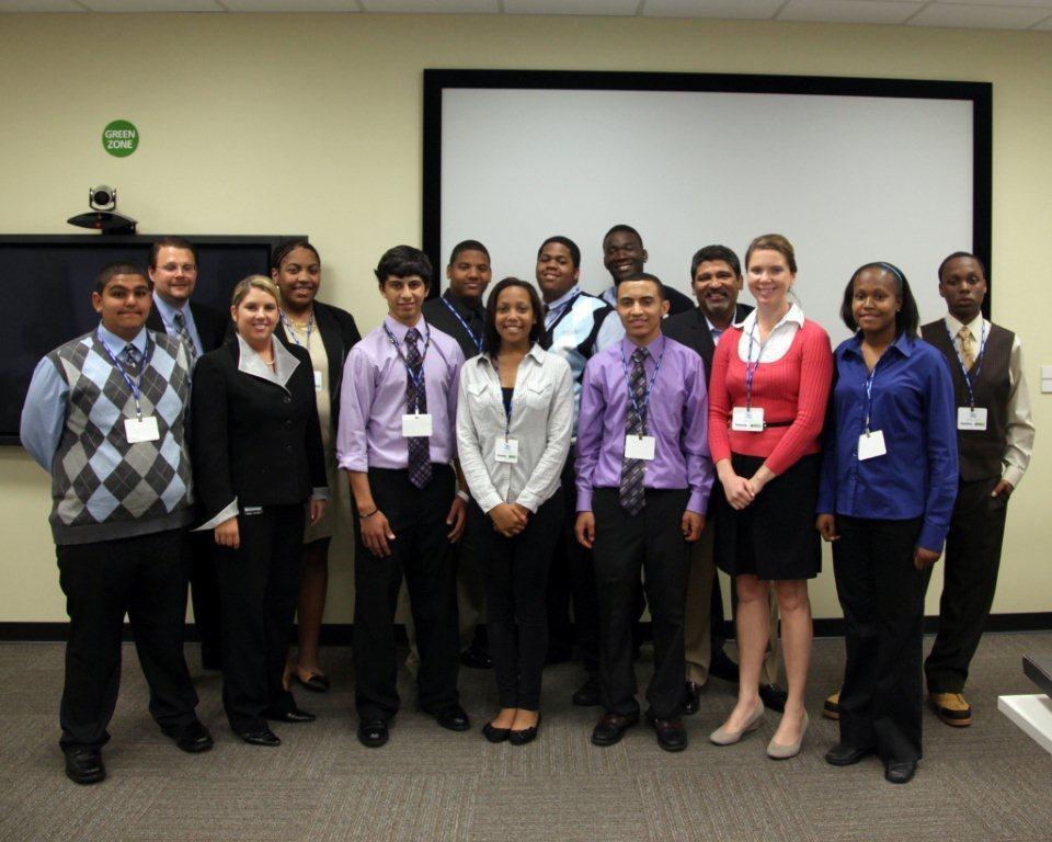 Antioch students Junior Achievement Company Program Deloitte