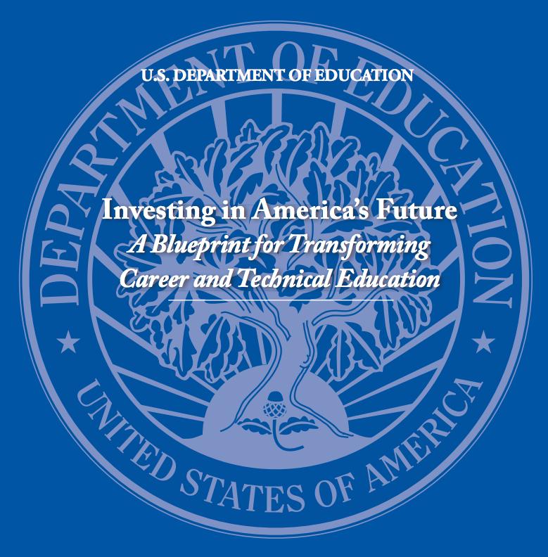 U.S. department education obama administration investing in america's future