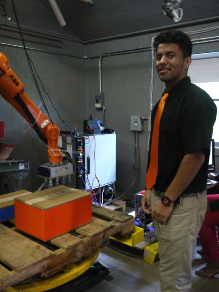 Straford at Universal Robotics