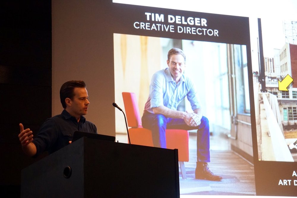 Tim Delger, Art Director, Bohan Ideas