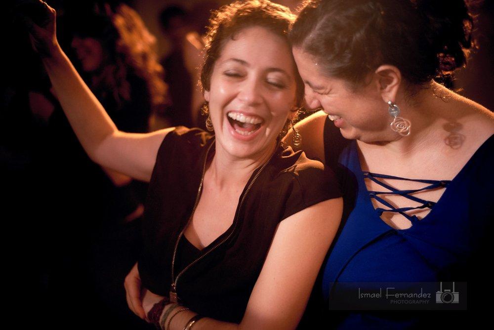 Virginia Jimenez & Adriana Arcia  Photo by  Ismael Fernandez