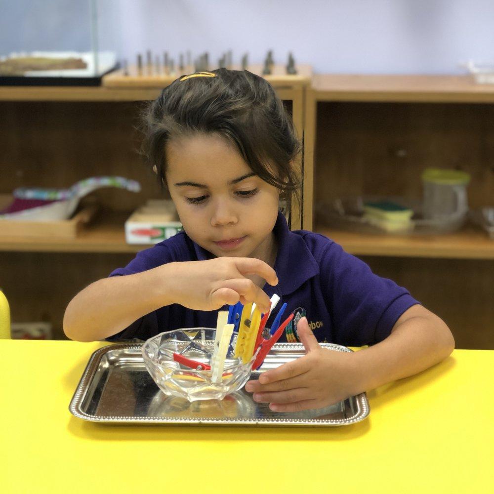 Rainbow Montessori - Practical Life