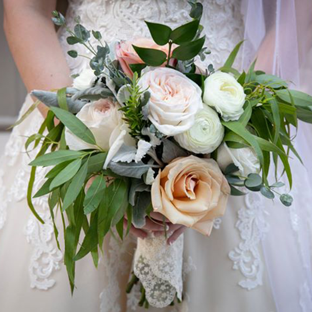 Bubbles and Blooms Katy Wedding Florist