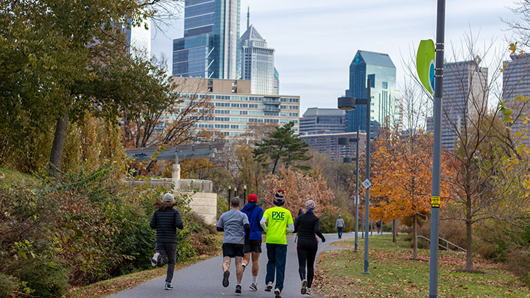 Schuylkill Trail See Philly Run