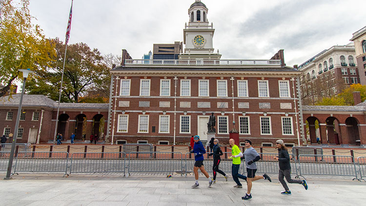 See Philly Run Independence Hall