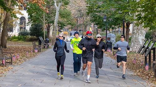 Copy of Washington Square Customized Running Tour