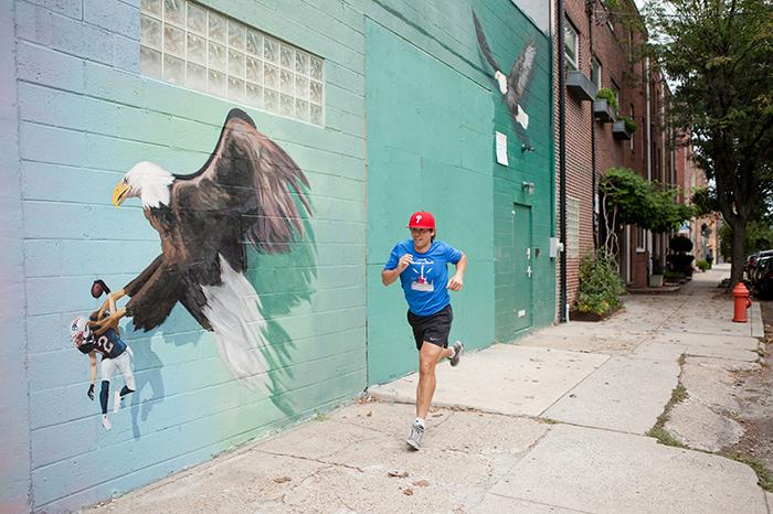 Running Through The Streets. Philadelphia's Best Running Tour. SeePhillyRun.