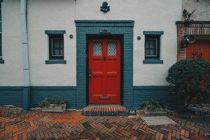 Colonial Door SeePhillyRun