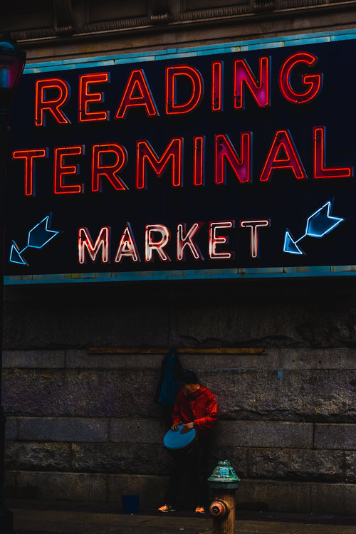 Reading Terminal Market. See Philly Run. Philadelphia Running Tours.