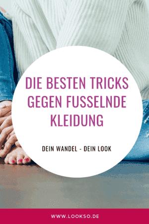 be402f29f3e Fusseln entfernen - Die besten Tricks — Lookso-Online Stilberatung  Online  Typberatung