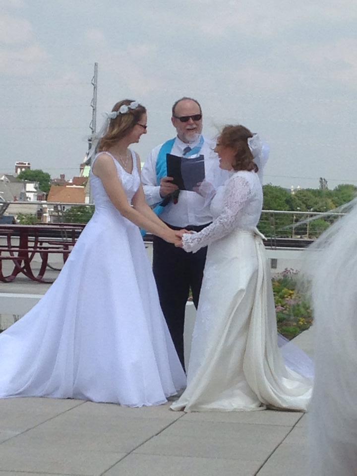 Officiating My Friends' Same-Sex Wedding