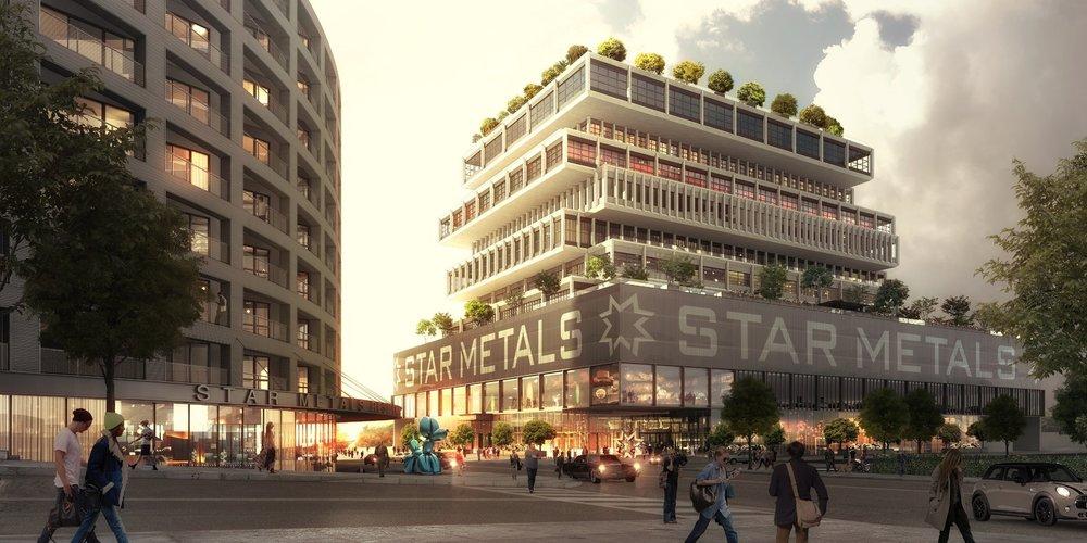 Oppenheim Architecture's Vast Star Metal Project Begins Construction