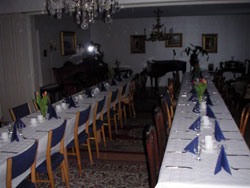 Margaretarummet med långbord