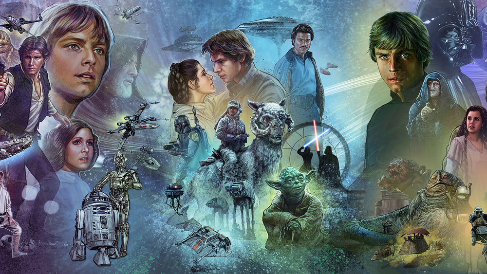 The Original Trilogy of the Star Wars Saga, Episodes IV-VI