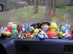 Toys on the Dashboard