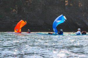 Tim Thomsen Kayak Sailing Friday Harbor