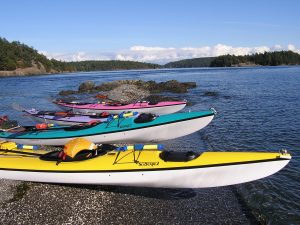 Kayaking in Friday Harbor