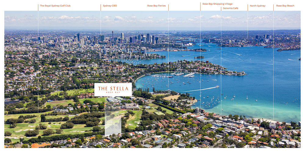 The Stella Rose Bay: 58-60 Newcastle St, Rose Bay NSW 2029